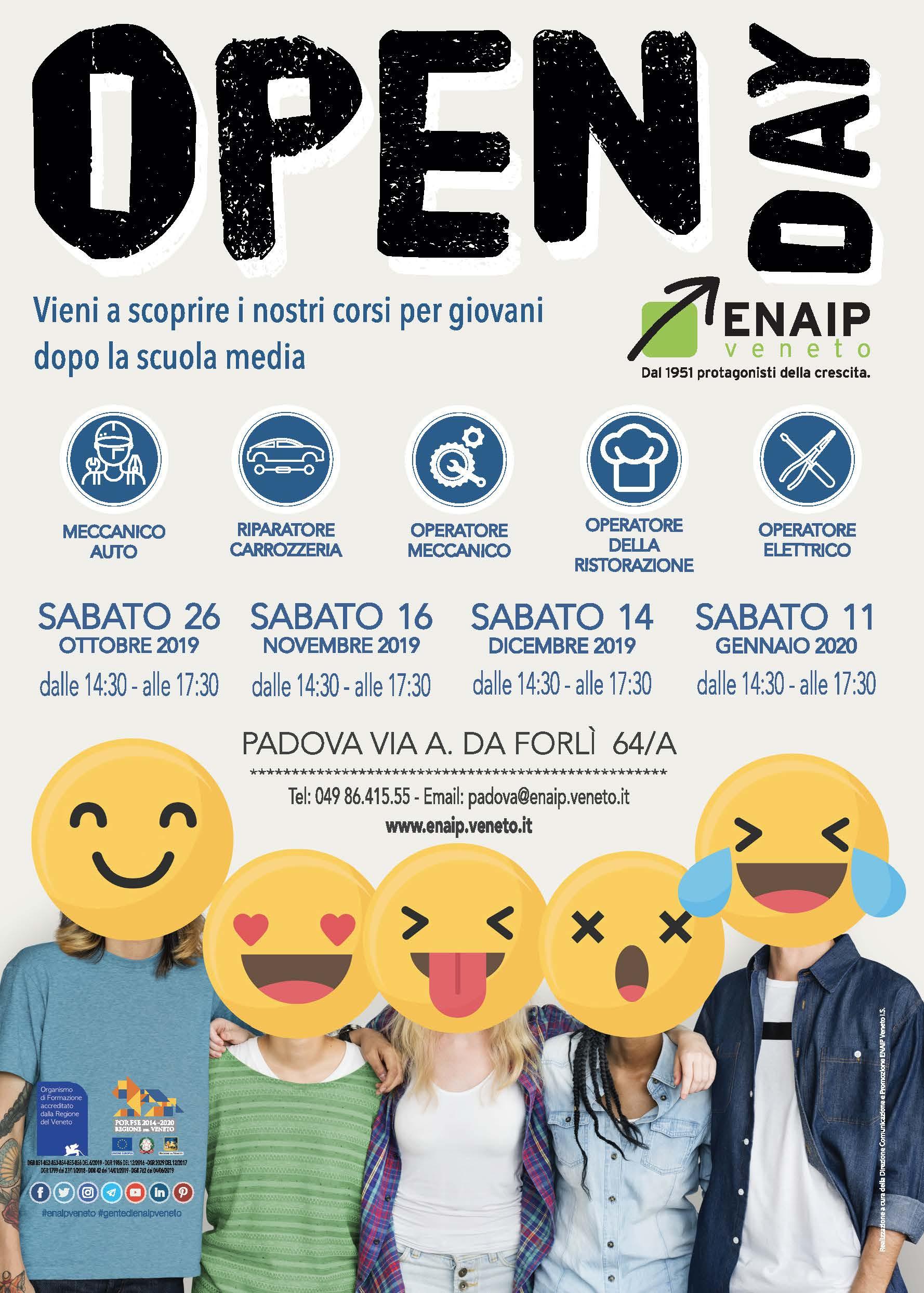 ENAIP_OpenDay_2020 - PADOVA